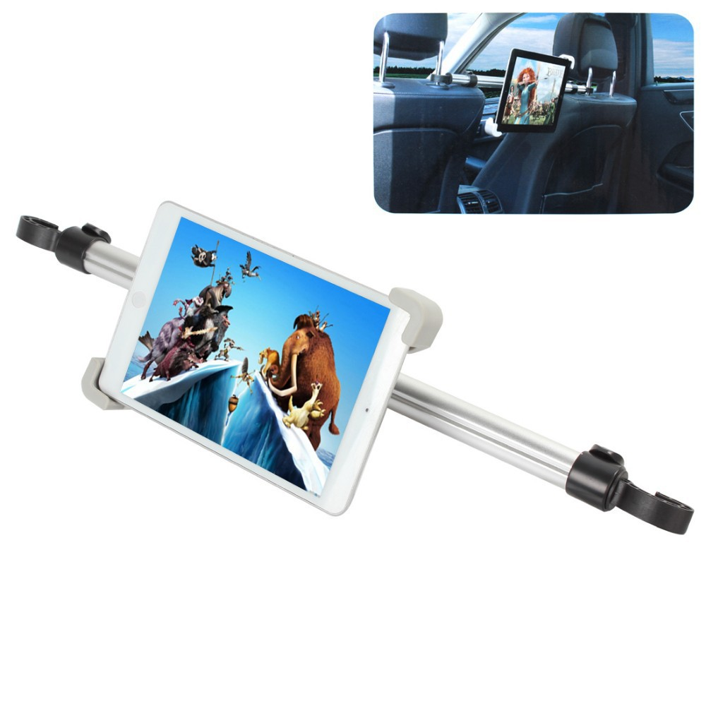 Universal Car Mount Rear Headrest Holder Between Two Seats 360 Degree Rotation for 7 11 Tablet PCs