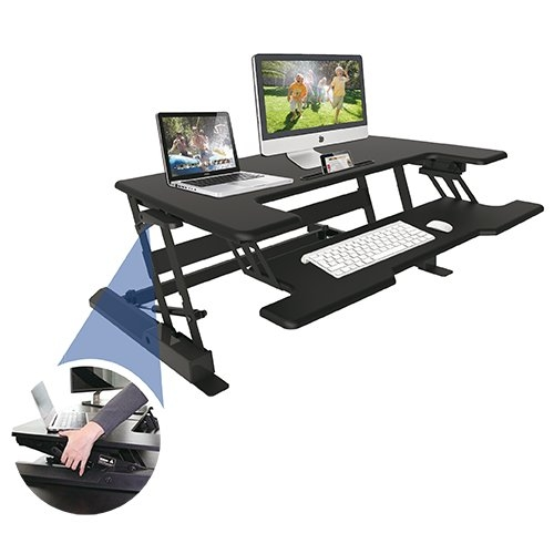 Výškově stavitelný PC stůl STRICT BRAND LD02A1