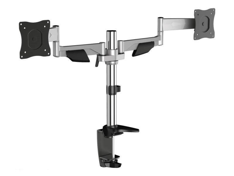 Kancelářský držák na 2 monitory Montek MD2-24