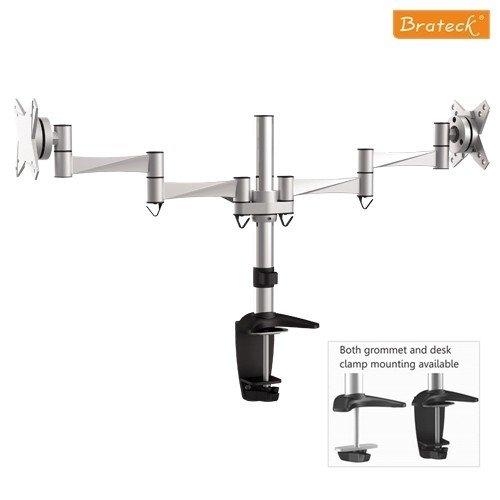 Vysoce kvalitní stolní držák dvou monitorů Brateck LDT02-C024