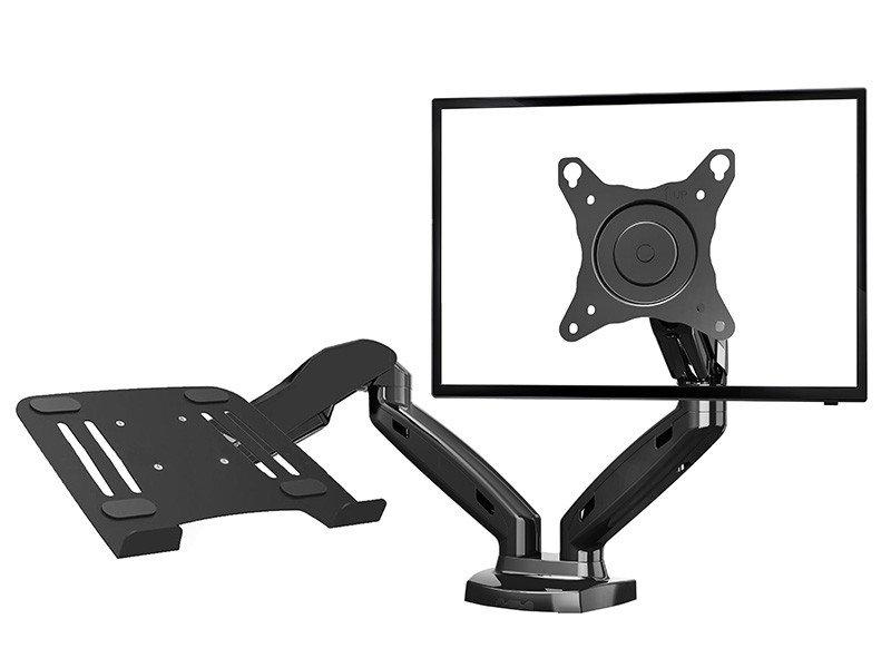 NB Stolní kancelářský držák pro 2 monitory + notebook NB F160+MC588