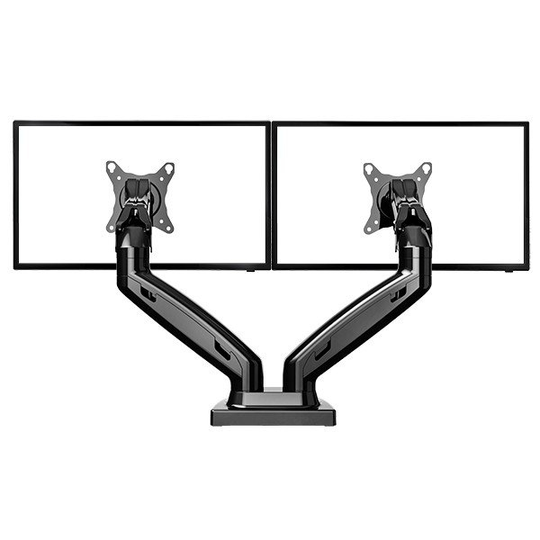 NB Stolní kancelářský držák pro 2 monitory NB F160