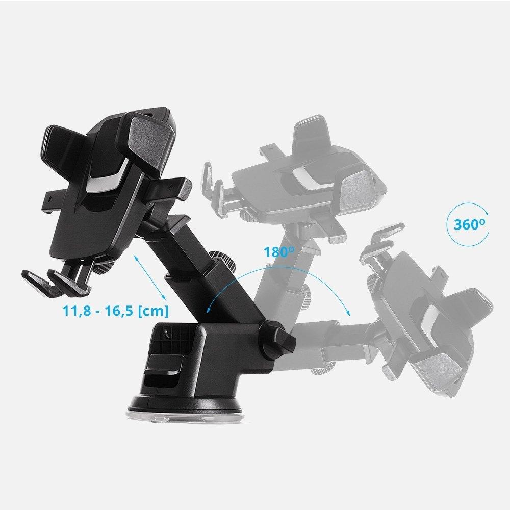 Teleskopický držák telefonu do auta STRICT BRAND SB01