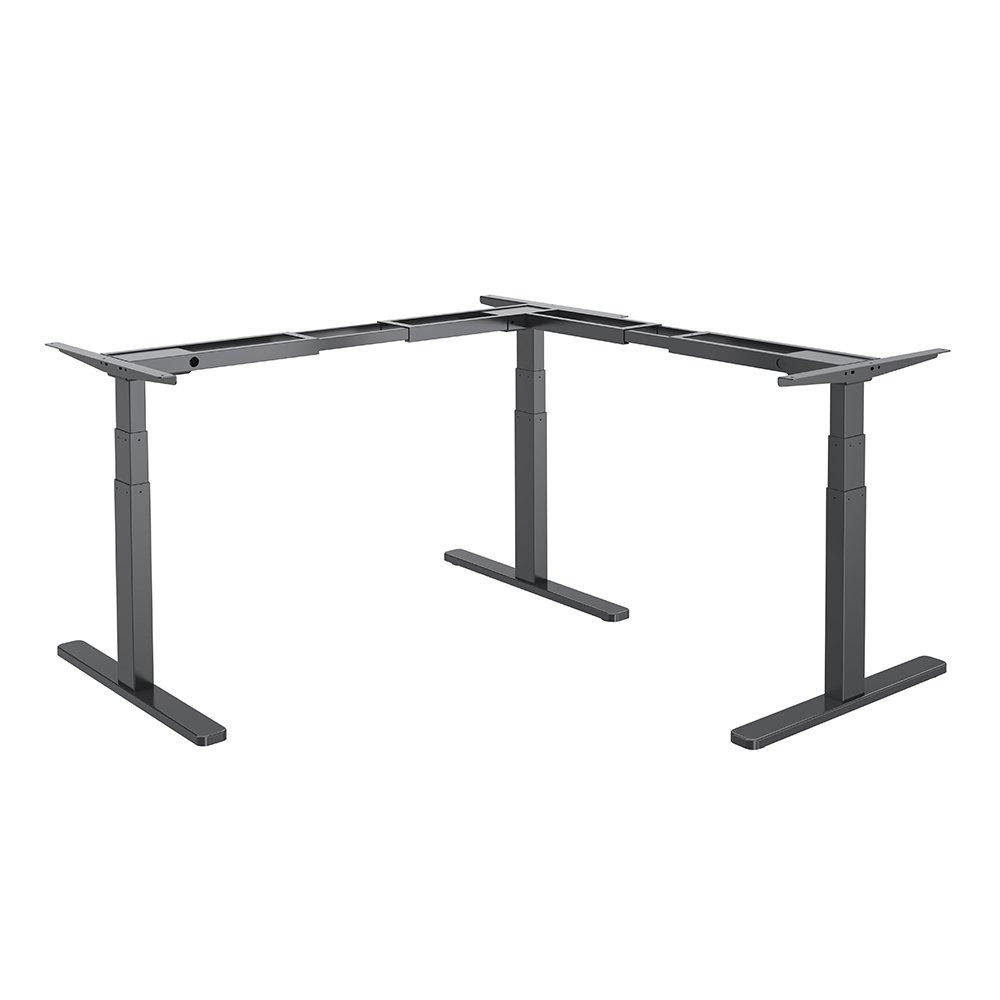 STRICT BRAND HED103-90 Rohové výškově elektricky nastavitelný stůl