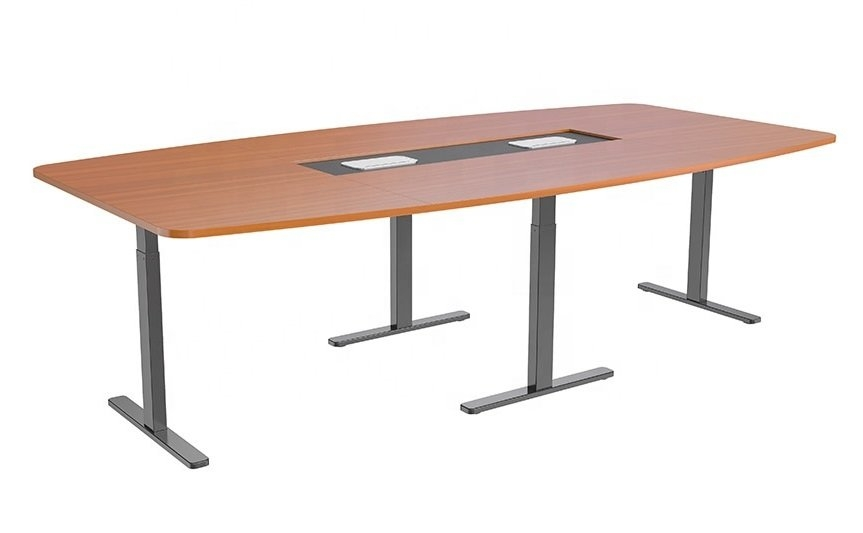 STRICT BRAND HED124M Elektricky nastavitelný konferenční stolek se čtyřmi motory